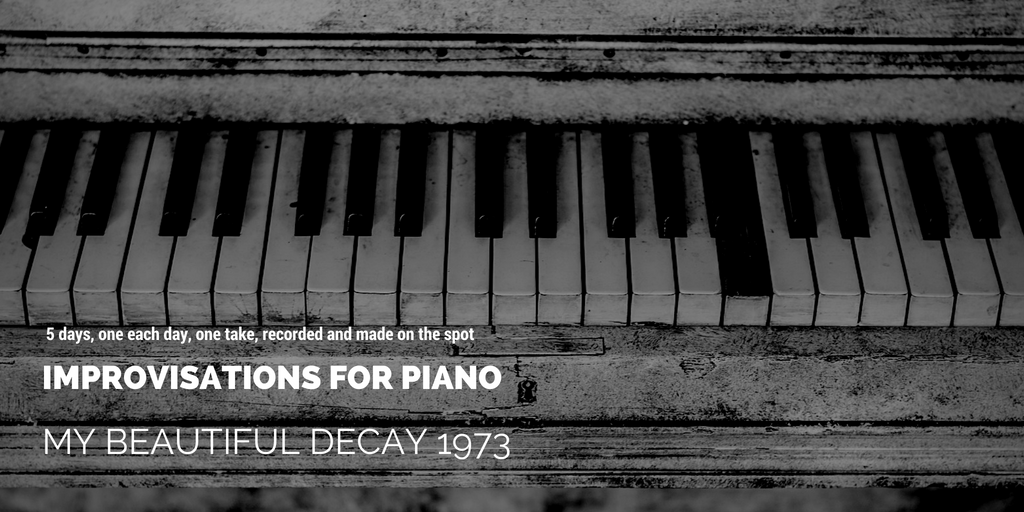 Improvisations for piano